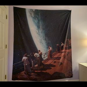"""Space Wall Tapestry 68"""" x 80"""""""